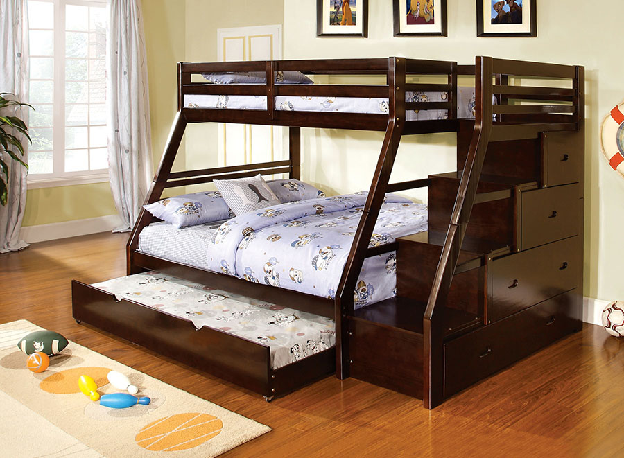 Ellington Twin Full Bunk Bed With Trundle Shop For Affordable Home