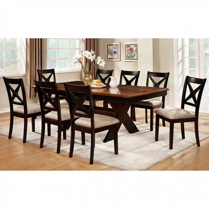 Liberta Transitional Dark Oak Black Dining Table Set Shop For Affordable Home Furniture Decor Outdoors And More