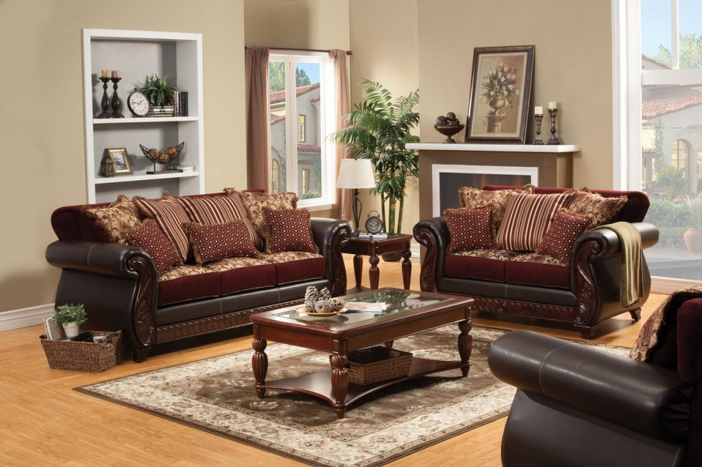 Franklin Traditional Sofa Set