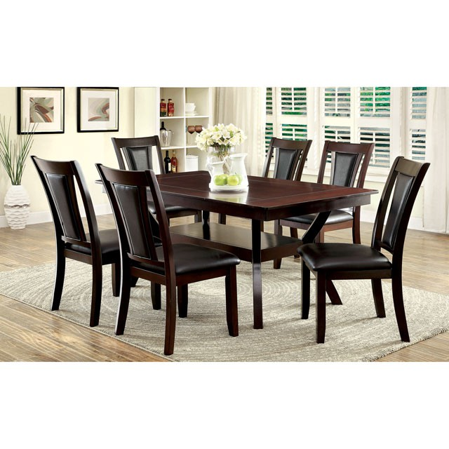 Brent Transitional Dark Cherry Finish Dining Set Shop For Affordable Home Furniture Decor Outdoors And More
