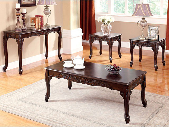Cheshire 3pcs Cherry Coffee Table Set