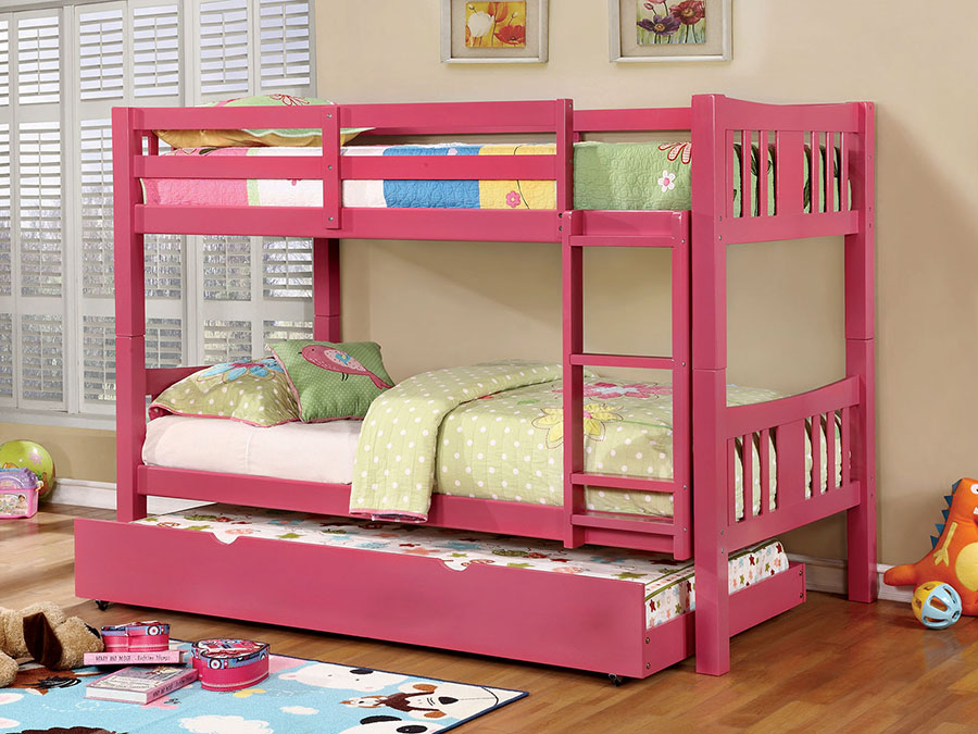 Cameron Twin/Twin Bunk Bed With Trundle   Shop for Affordable Home