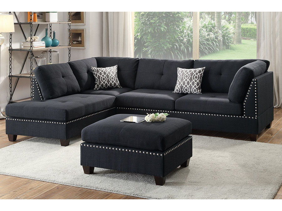 3Pcs Sectional Sofa