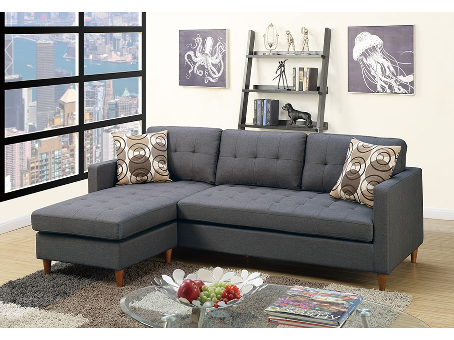 Blue Gray Sectional Sofa - Shop for Affordable Home Furniture, Decor ...