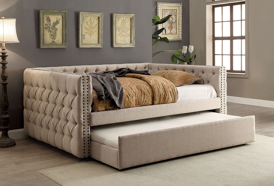 Suzanne Contemporary Full Size Daybed Shop For Affordable Home