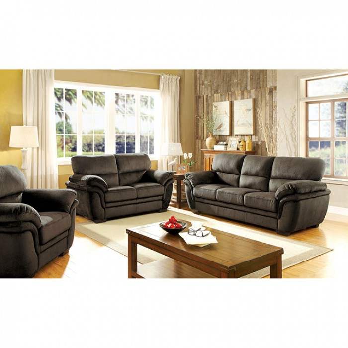 Swell Jaya Dark Brown Sofa Set Squirreltailoven Fun Painted Chair Ideas Images Squirreltailovenorg