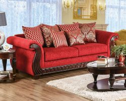 Corinna Ruby Red Sofa Set - Shop for Affordable Home ...