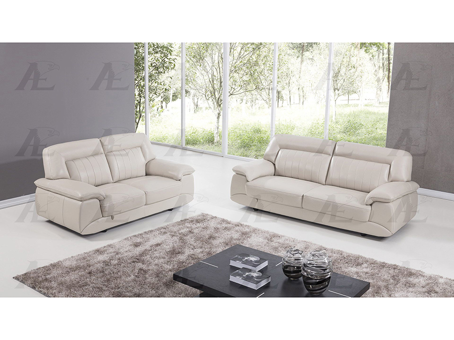 Incredible Light Gray Italian Leather Sofa Set Inzonedesignstudio Interior Chair Design Inzonedesignstudiocom