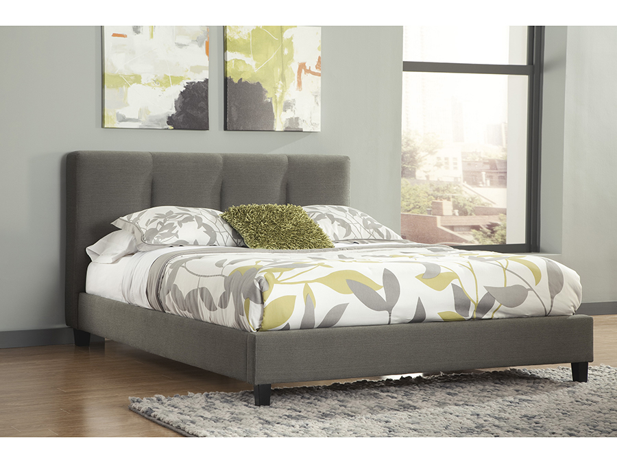 Masterton Gray Cal King Upholstered Bed Shop For Affordable Home Furniture Decor Outdoors And More