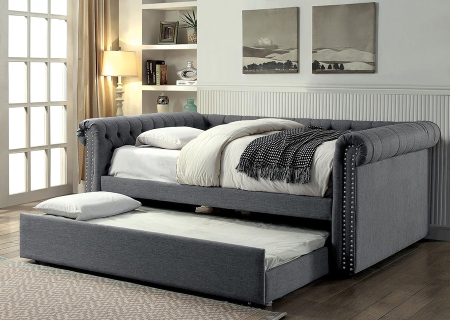 Leanna Gray Full Daybed With Trundle Shop For Affordable Home