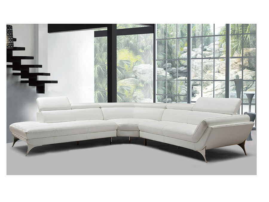 Super White Leather Sectional Sofa Beatyapartments Chair Design Images Beatyapartmentscom
