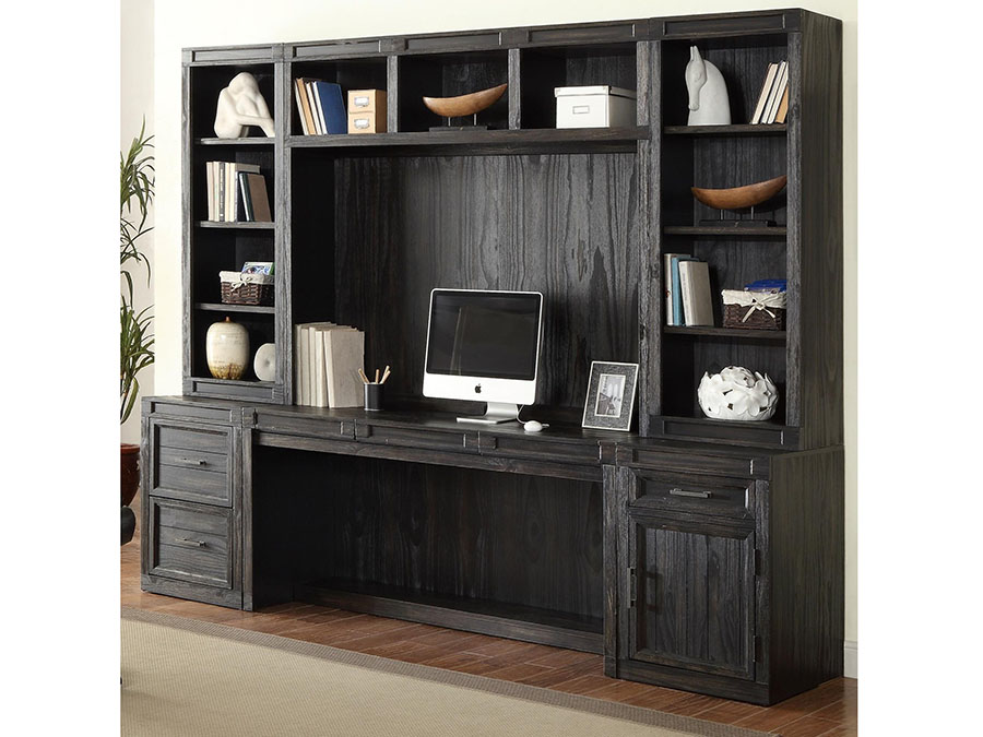 Admirable Hudson 6Pcs Desk With Hutch And Printer File Storage Download Free Architecture Designs Scobabritishbridgeorg