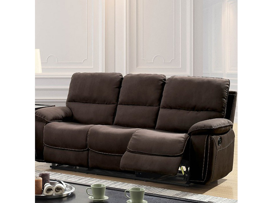 Amaris Dark Brown Sofa Set