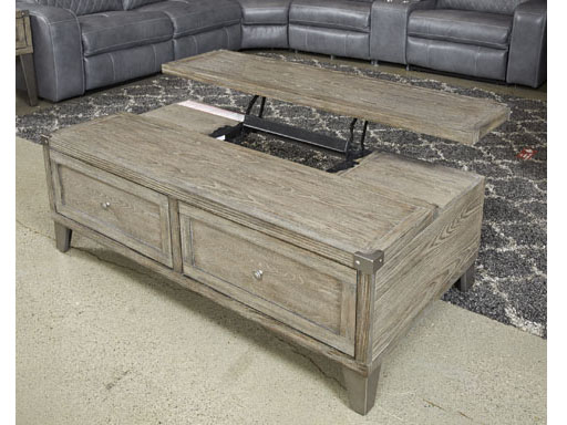 Chazney Rustic Brown Lift Top Cocktail Table Shop For Affordable