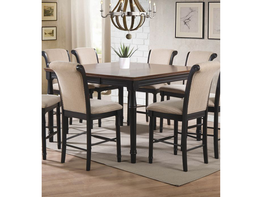 Black Counter Height Dining Table