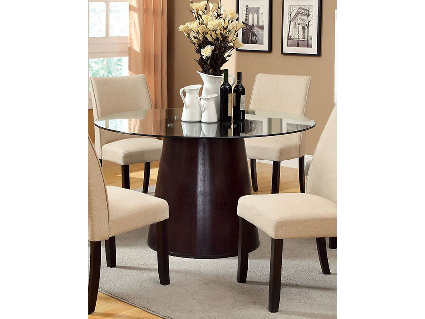 Montecito Round Glass Dining Table Shop For Affordable Home Furniture Decor Outdoors And More