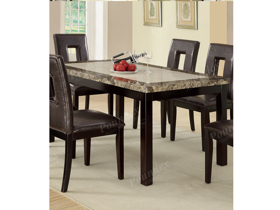 Rectangular Dining Table In Dark Brown Shop For Affordable Home Furniture Decor Outdoors And More