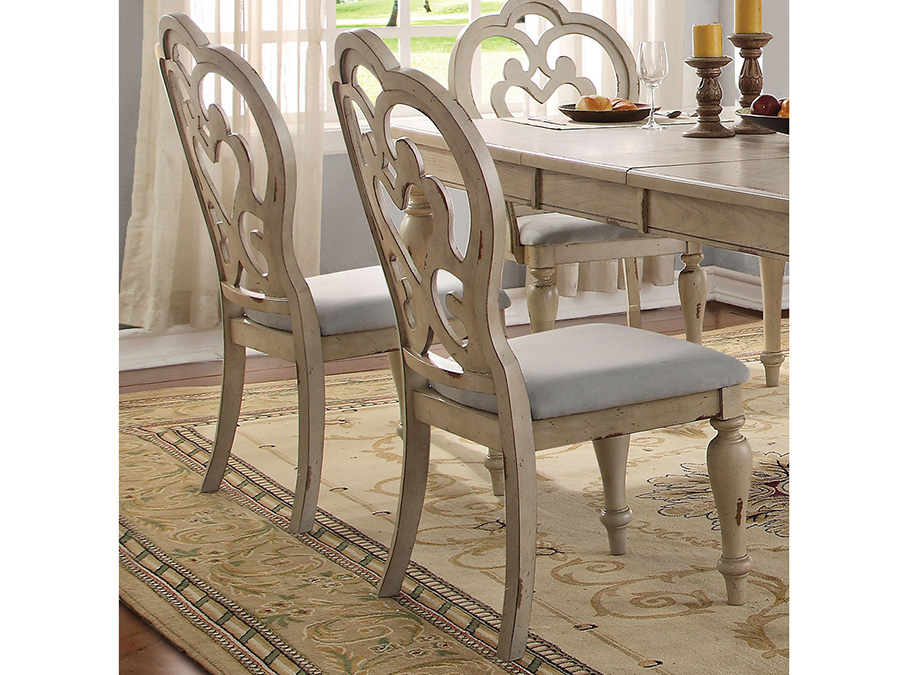 Fabulous Abelin Antique White Dining Table Set Alphanode Cool Chair Designs And Ideas Alphanodeonline