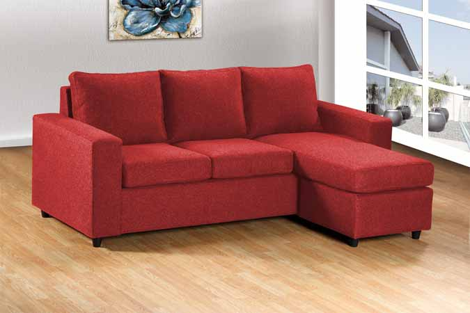 2068-RED Sectional Sofa