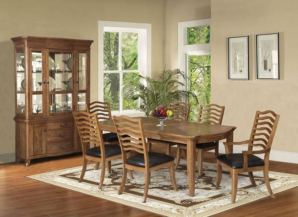 Selwyn Maple Wood Dining Table Set With Leaf Shop For Affordable Home Furniture Decor Outdoors And More