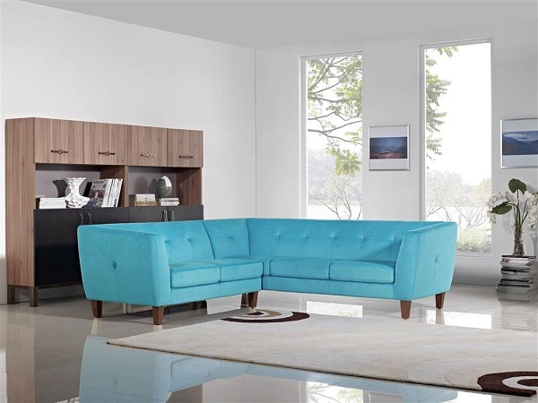 Aqua Blue Sectional Shop For Affordable Home Furniture Decor Outdoors And More