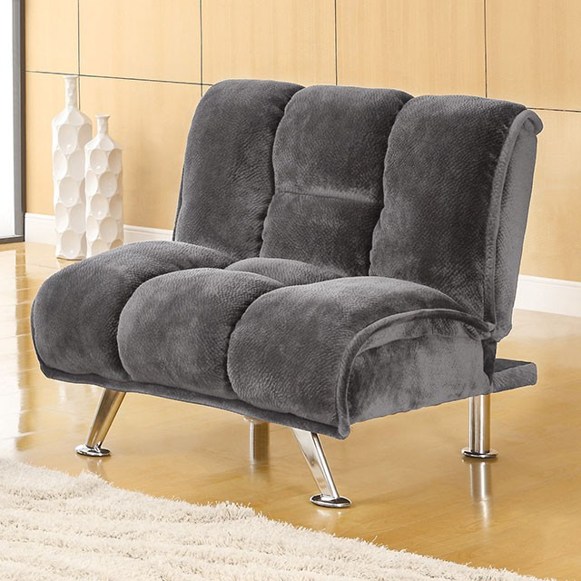Marbelle Grey Champion Fabric Chair