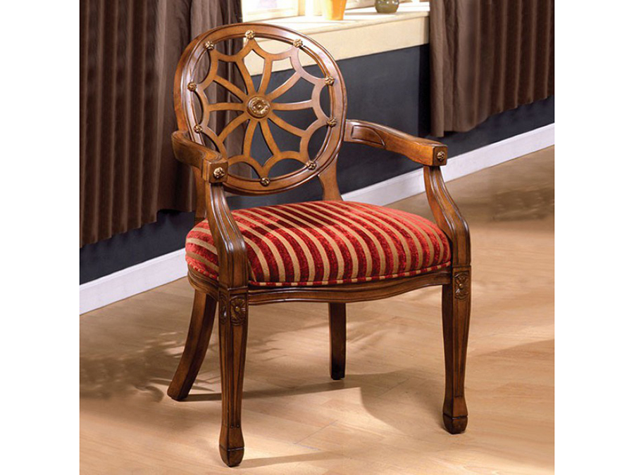 Edingurgh Antique Oak Accent Chair