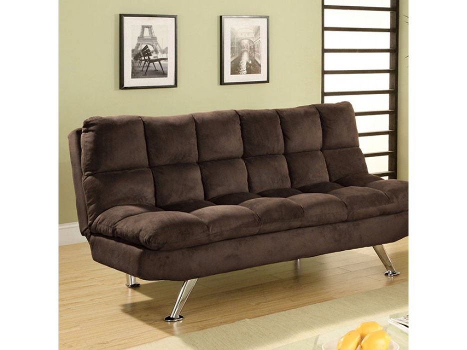 Wondrous Cocoa Beach Brown Futon Sofa Set Machost Co Dining Chair Design Ideas Machostcouk