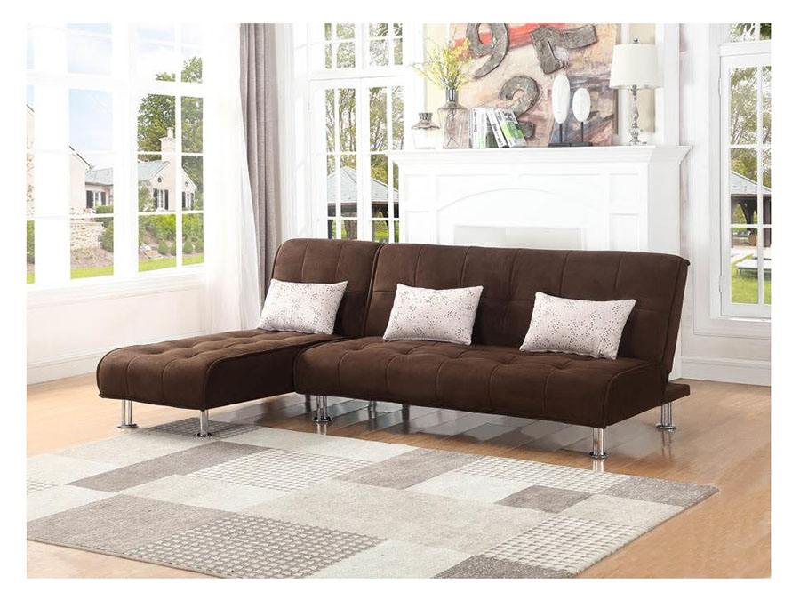 Brown Sectional Sofa Sleeper