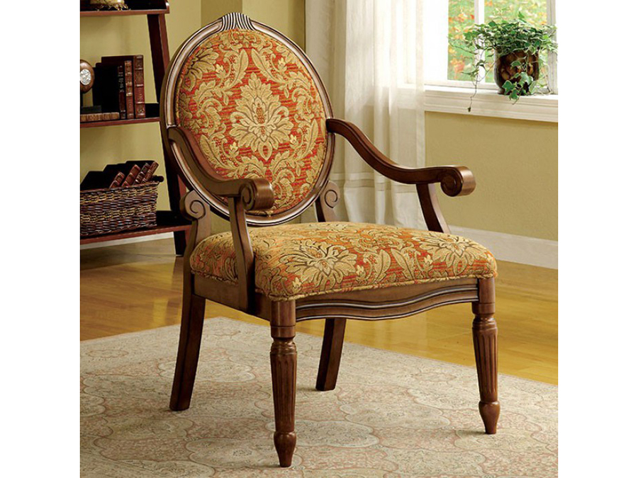 Hammond Victorian Traditional Antique Oak Accent Chair - Hammond Victorian Traditional Antique Oak Accent Chair - Shop For