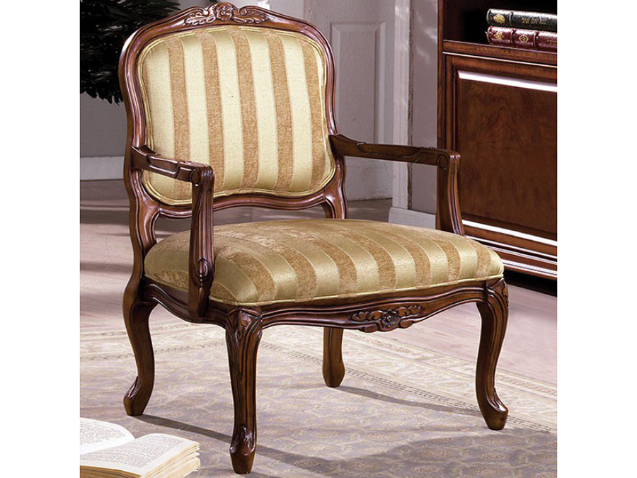 Burnaby Antique Oak Accent Chair - Burnaby Antique Oak Accent Chair - Shop For Affordable Home