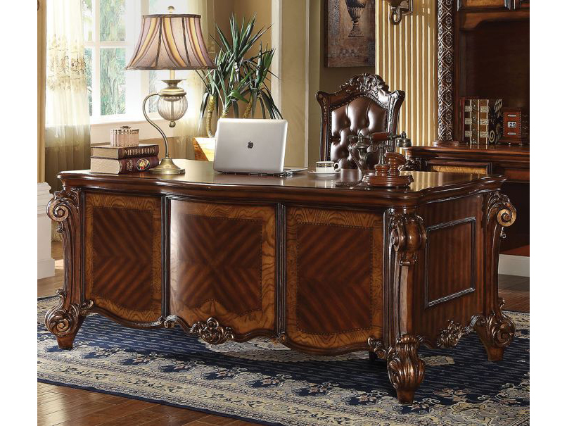 Astounding Vendome Cherry Office Desk Download Free Architecture Designs Scobabritishbridgeorg
