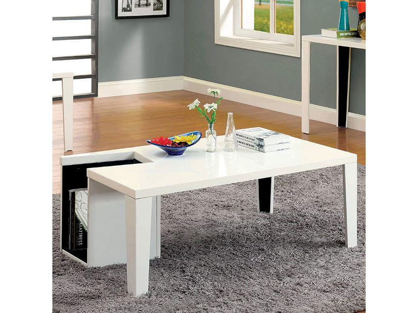 Lorri White Coffee Table