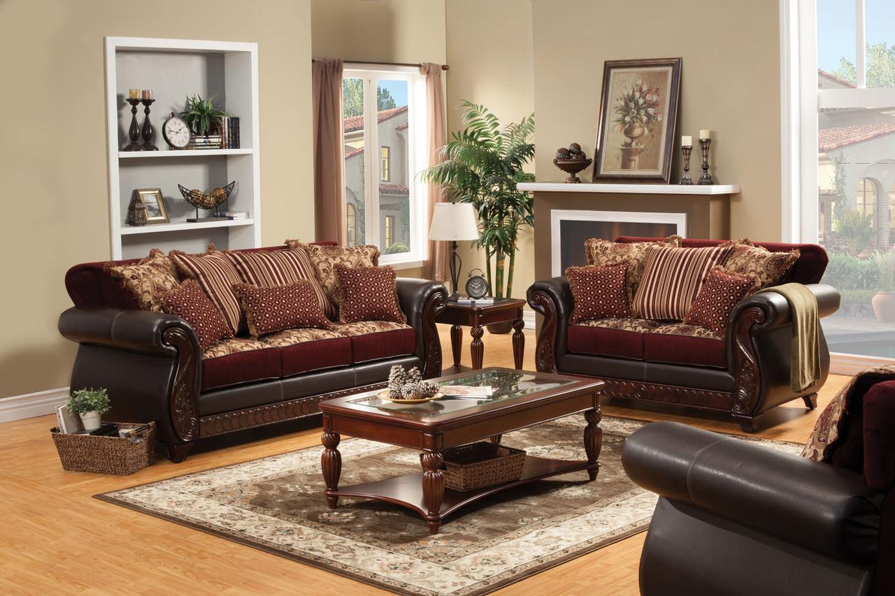Franklin Traditional Sofa Set