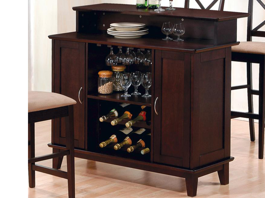 Bar Unit With Wine
