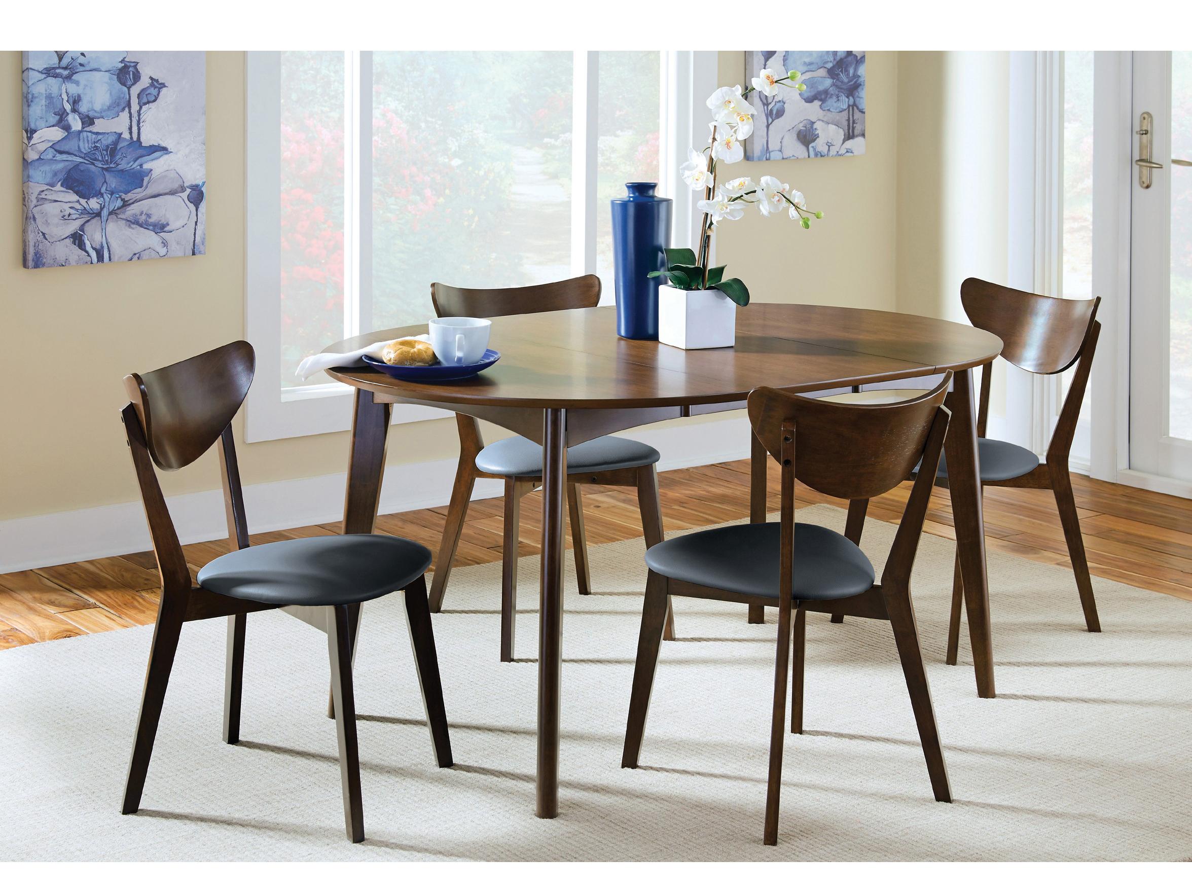 Dark Walnut Dining Table Set Shop For Affordable Home Furniture - Dark walnut dining table and chairs