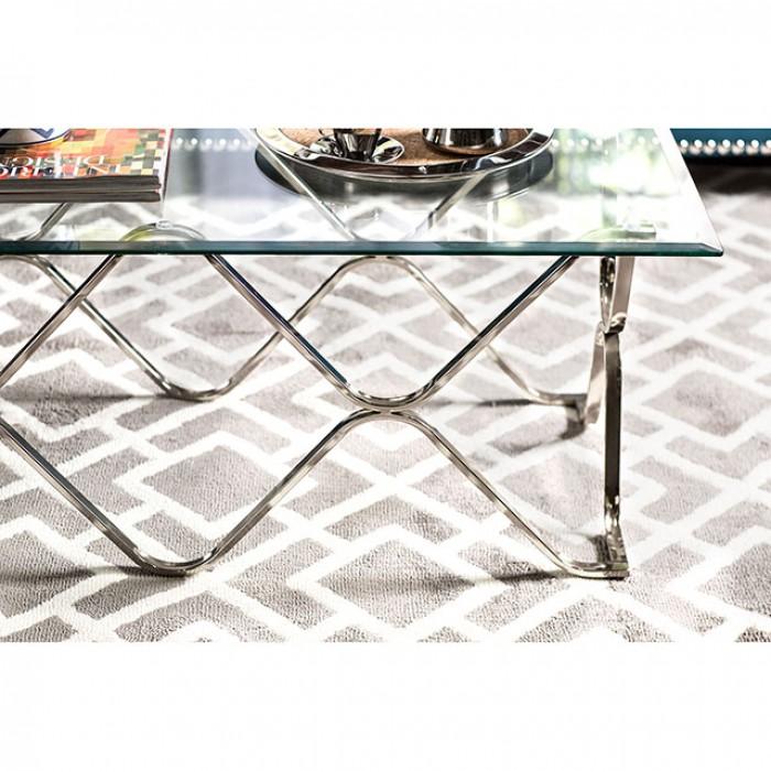 Vador Chrome Coffee Table