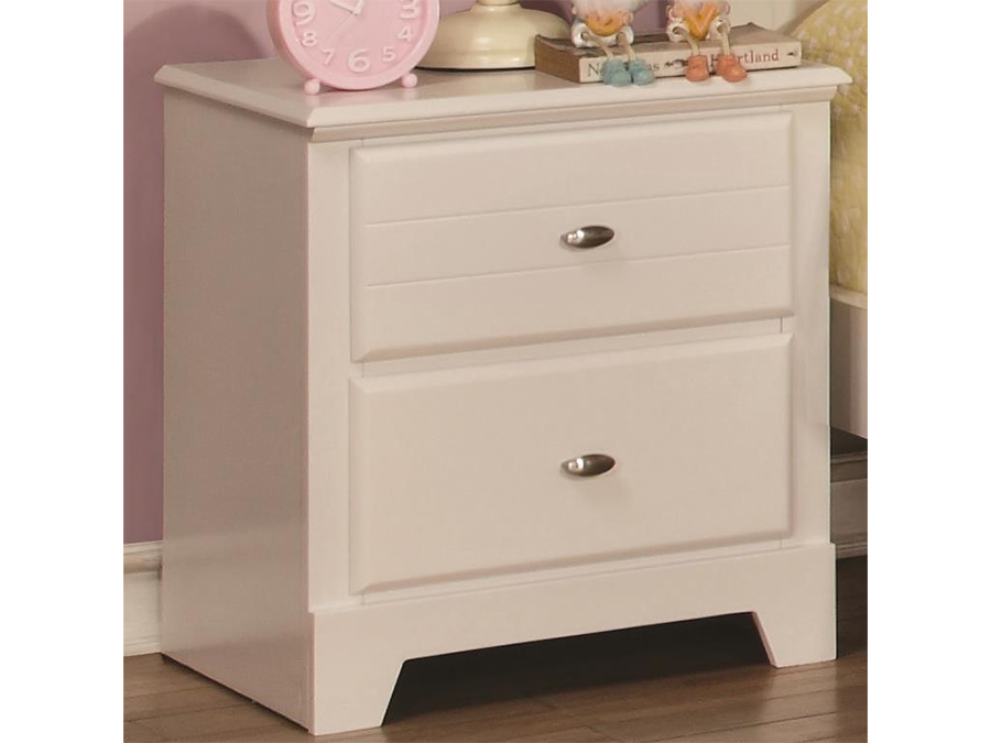 Wood nightstand in white shop for affordable home for White wood nightstand