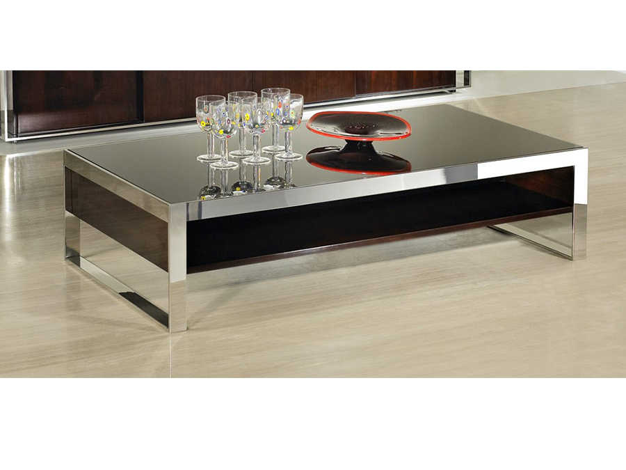 Ebony Lacquer Coffee Table