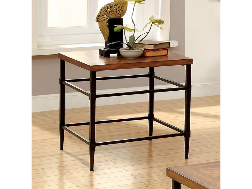 Herrick Light Oak End Table