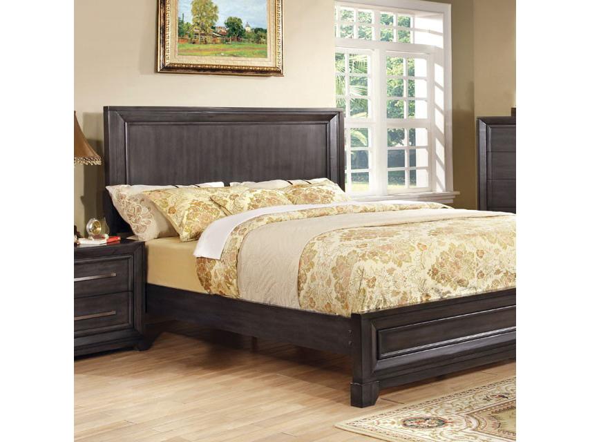 Bradley Dark Gray Queen Bed