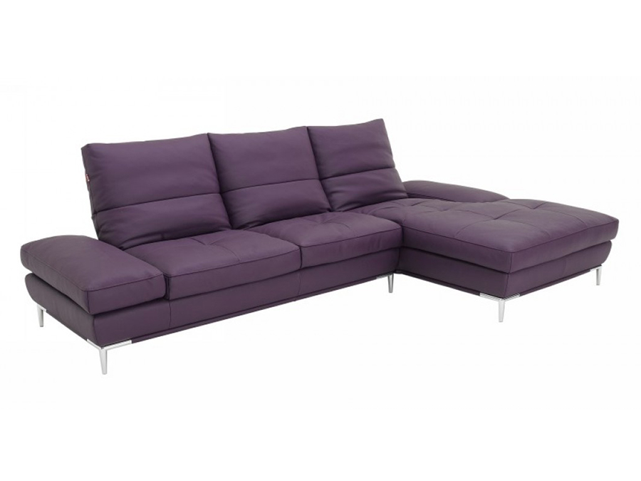 Purple Sectional Sofa Set