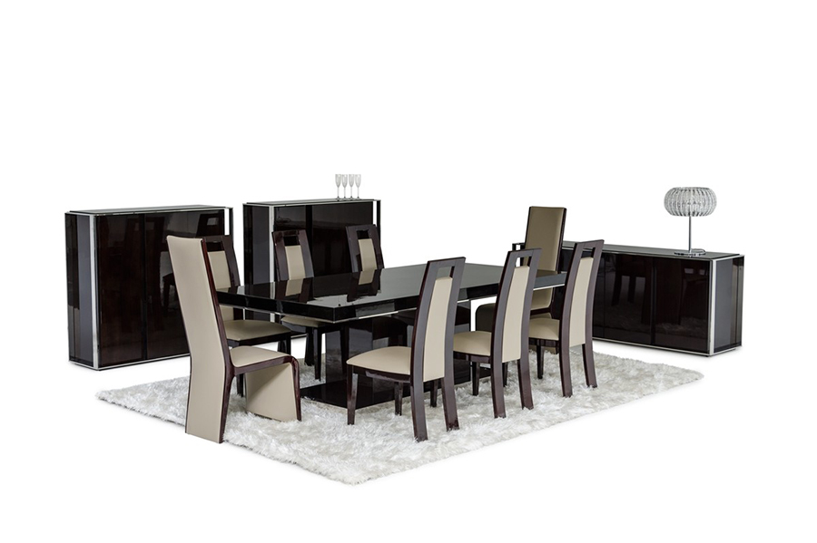 Lacquer Dining Set