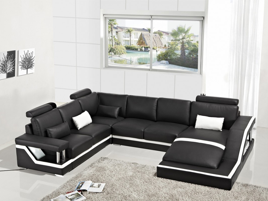 Bonded Leather Sectional Sofa Sectional Sofa Design Awesome Back Modern Thesofa