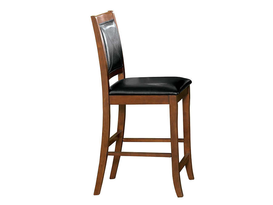 Brown Counter Height Bar Stool Set Of 2 Shop For