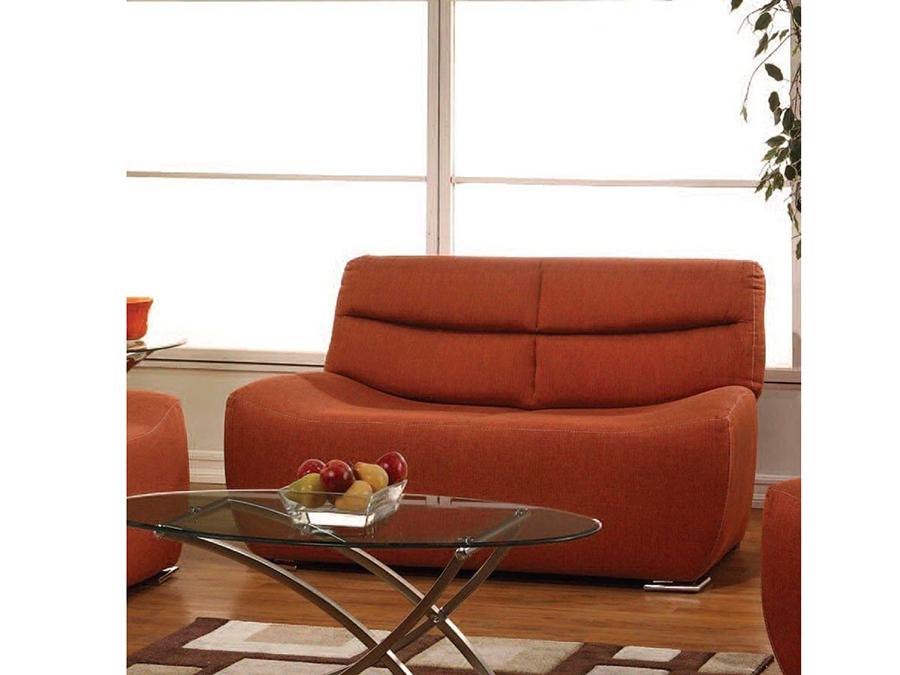 Kainda Orange Sofa Set