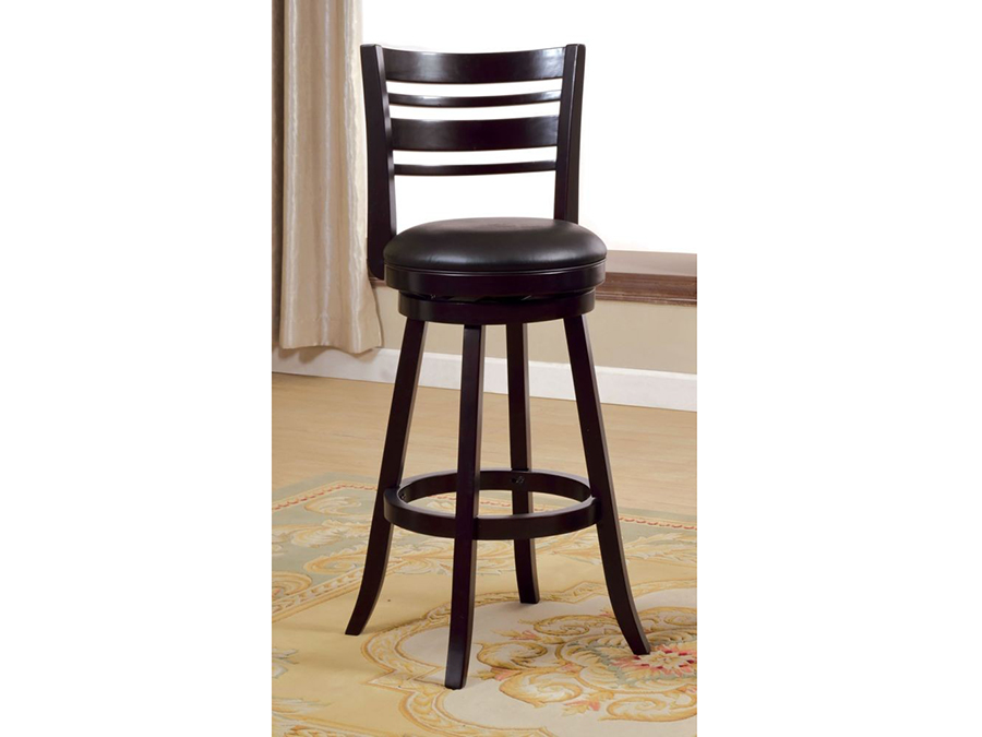 Astonishing Luverne Espresso 29 Inch Swivel Bar Stool Dailytribune Chair Design For Home Dailytribuneorg