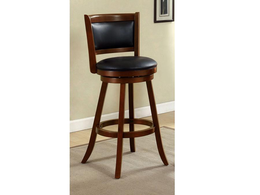 Magnificent Letcher Dark Cherry 29 Inch Swivel Bar Stool Dailytribune Chair Design For Home Dailytribuneorg