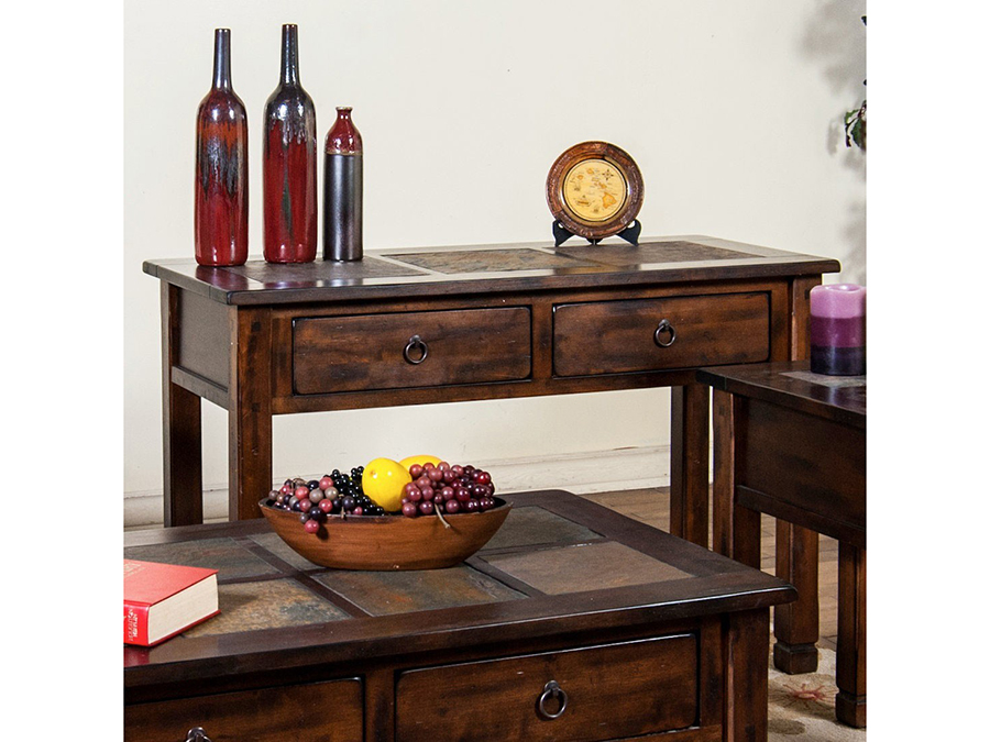Magnificent Sofa Table W Slate Top Ibusinesslaw Wood Chair Design Ideas Ibusinesslaworg