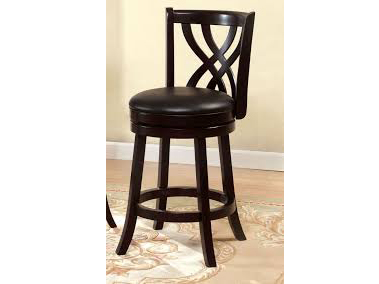 Wendel Espresso 24 Inch Swivel Bar Stool Shop For Affordable Home